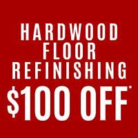 Save $100 on Hardwood Refinishing during our Storewide Sale-a-bration at Class Carpet in Levittown!