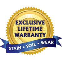 With the Lifetime Warranty on our exclusive broadloom carpet collections, there's no reason to go anywhere else!