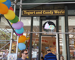 Yogurt & Candy World New York, NY | flooring project by Class Carpet