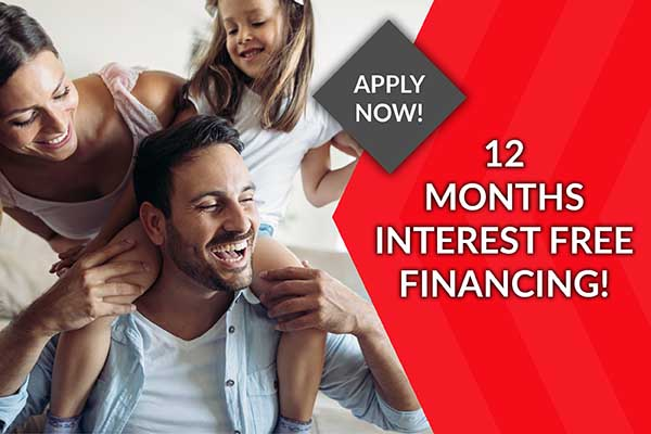 Class Carpet & Floor offers 12 Months No Interest financing