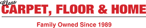 Class Carpet, floor & home logo