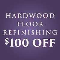 Anniversary Flooring Sale - Going On Now! - Custom Hardwood Flooring Refinishing $100 OFF