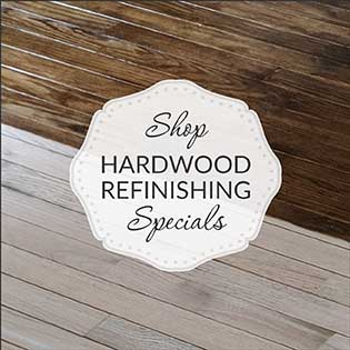 Shop hardwood refinishing specials at Class Carpet in Levittown.
